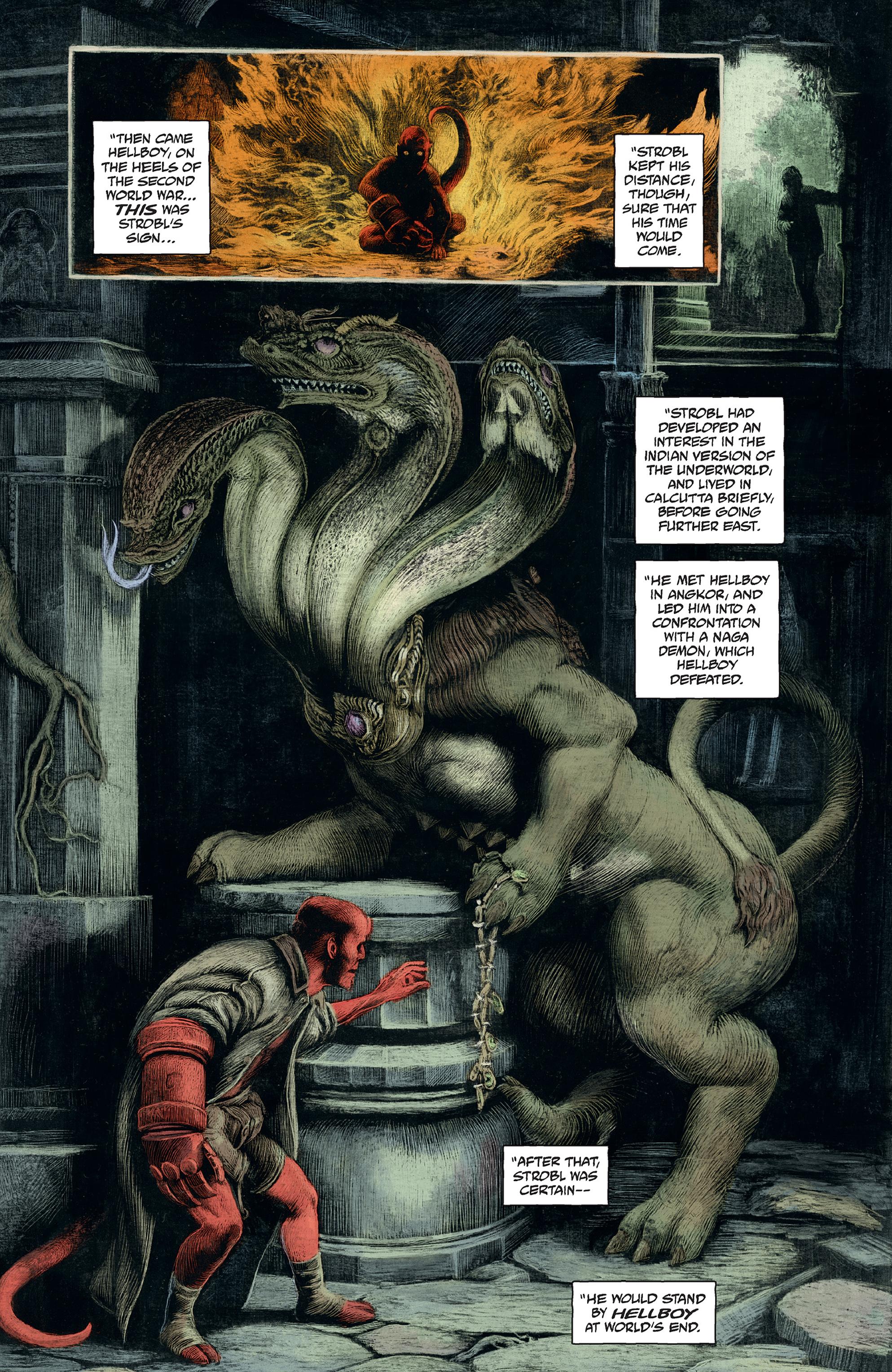 Read online Abe Sapien comic -  Issue #30 - 20