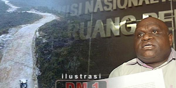 Natalius Pigai: Di Papua 9 Ruas Jalan di Bangun SBY, Jokowi Baru Bangun Satu Ruas Jalan