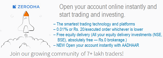 zerodha account opening documents,  online demat account opening
