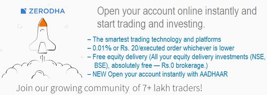 zerodha account opening documents,  online demat account opening