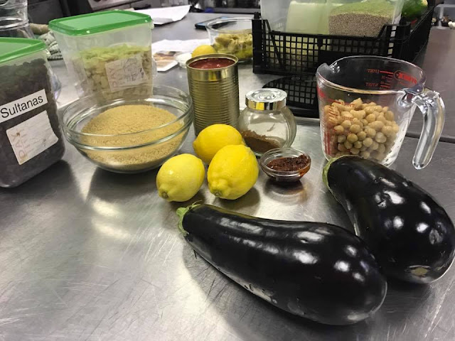Ingredients to make a tasty vegan Tagine