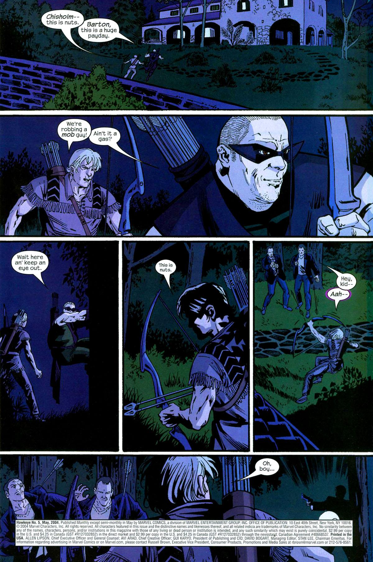Hawkeye (2003) Issue #5 #5 - English 2
