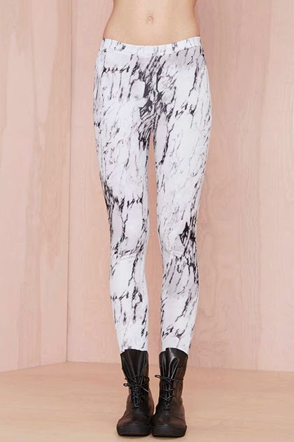 Fashion Trend - Marbles Scuba Leggings