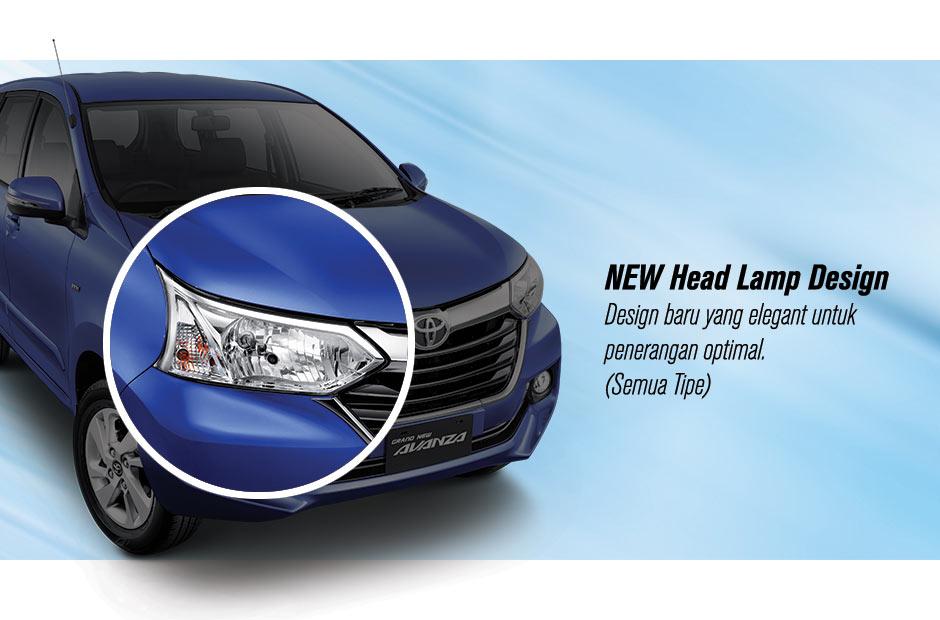 Harga Grand New Avanza Semarang All Camry Sport Toyota Promo Diskon Casback Mobil Paket Head Lamp Design Desain Baru Yang Elegan Untuk Penerangan Optimal Semua Tipe