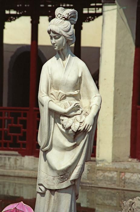 Nankin, Parc Mochou, Dame Sans-Souci, © L. Gigout, 1990