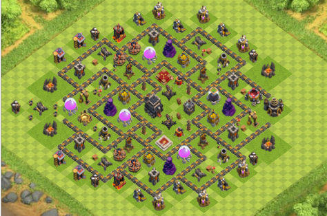 TOP 4 BASE TROPHY TH 9