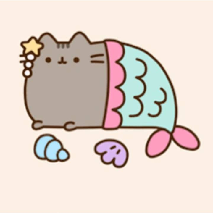 Pusheen Cat Mermaid