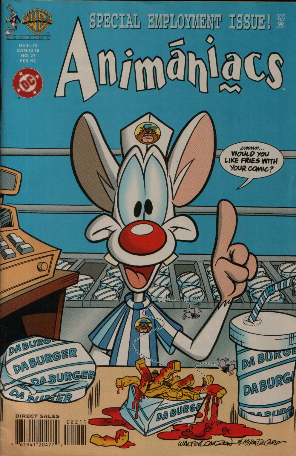 Animaniacs (1995) issue 22 - Page 1
