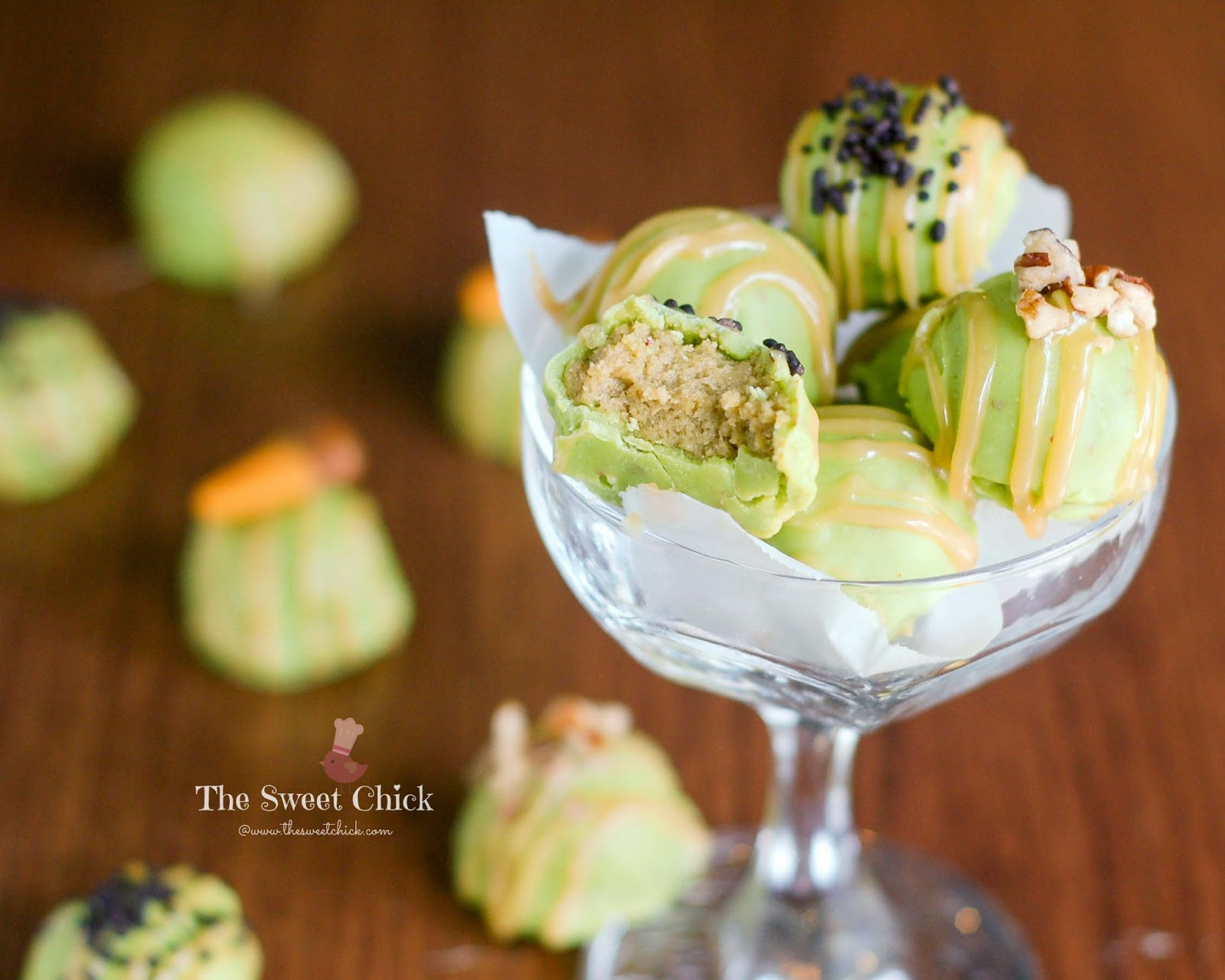 Caramel Apple Oreo Truffle by The Sweet Chick