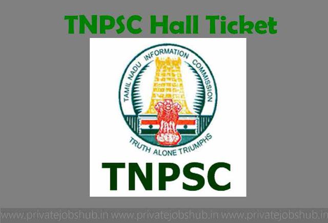 TNPSC Hall Ticket