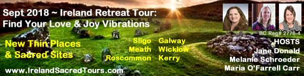 Sept 2018:  Ireland Love & Joy Tour