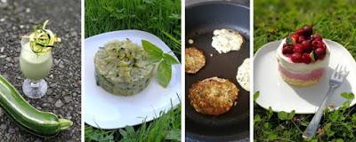 Collage Zucchini-Rezepte 2017