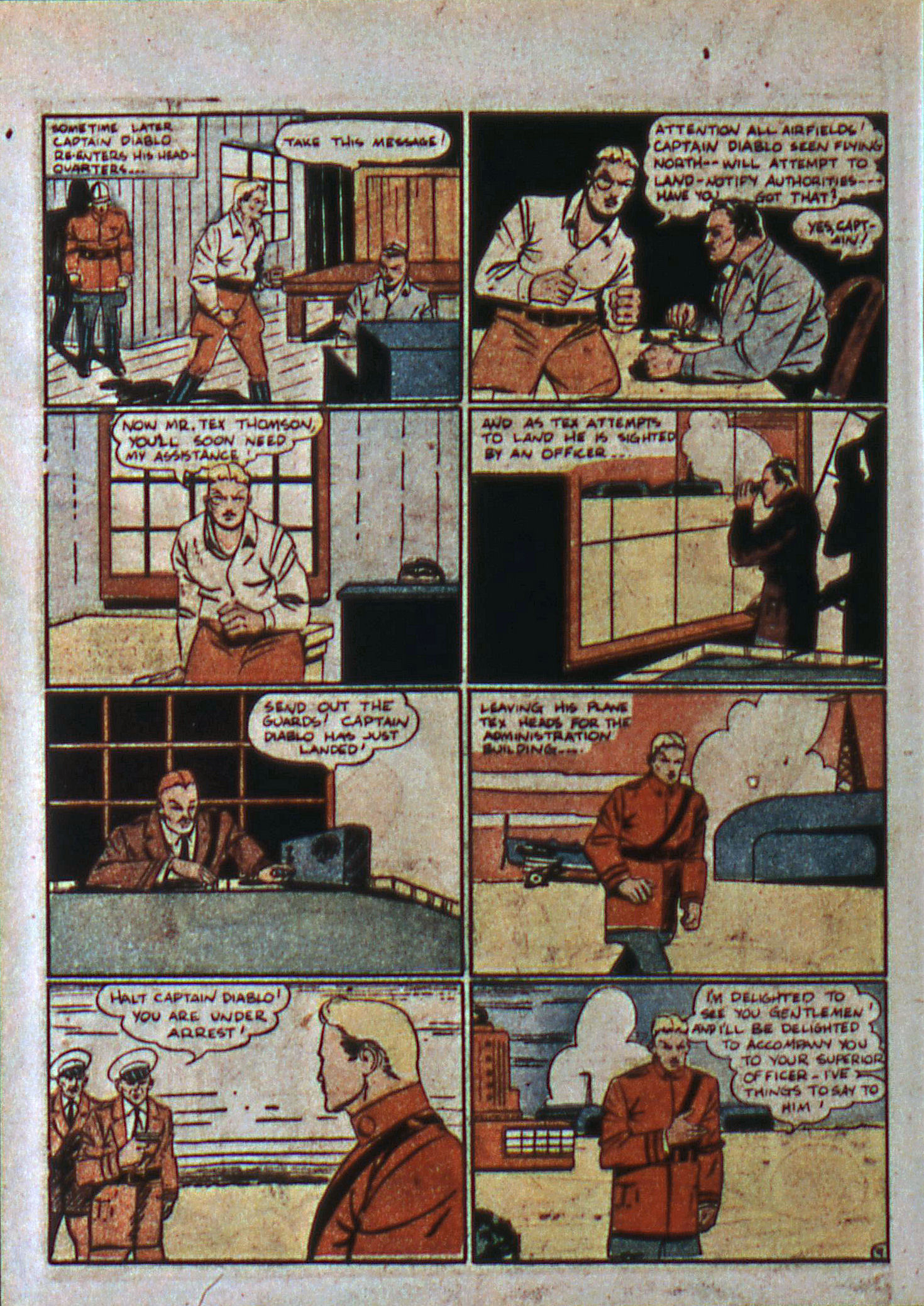Read online Action Comics (1938) comic -  Issue #6 - 44