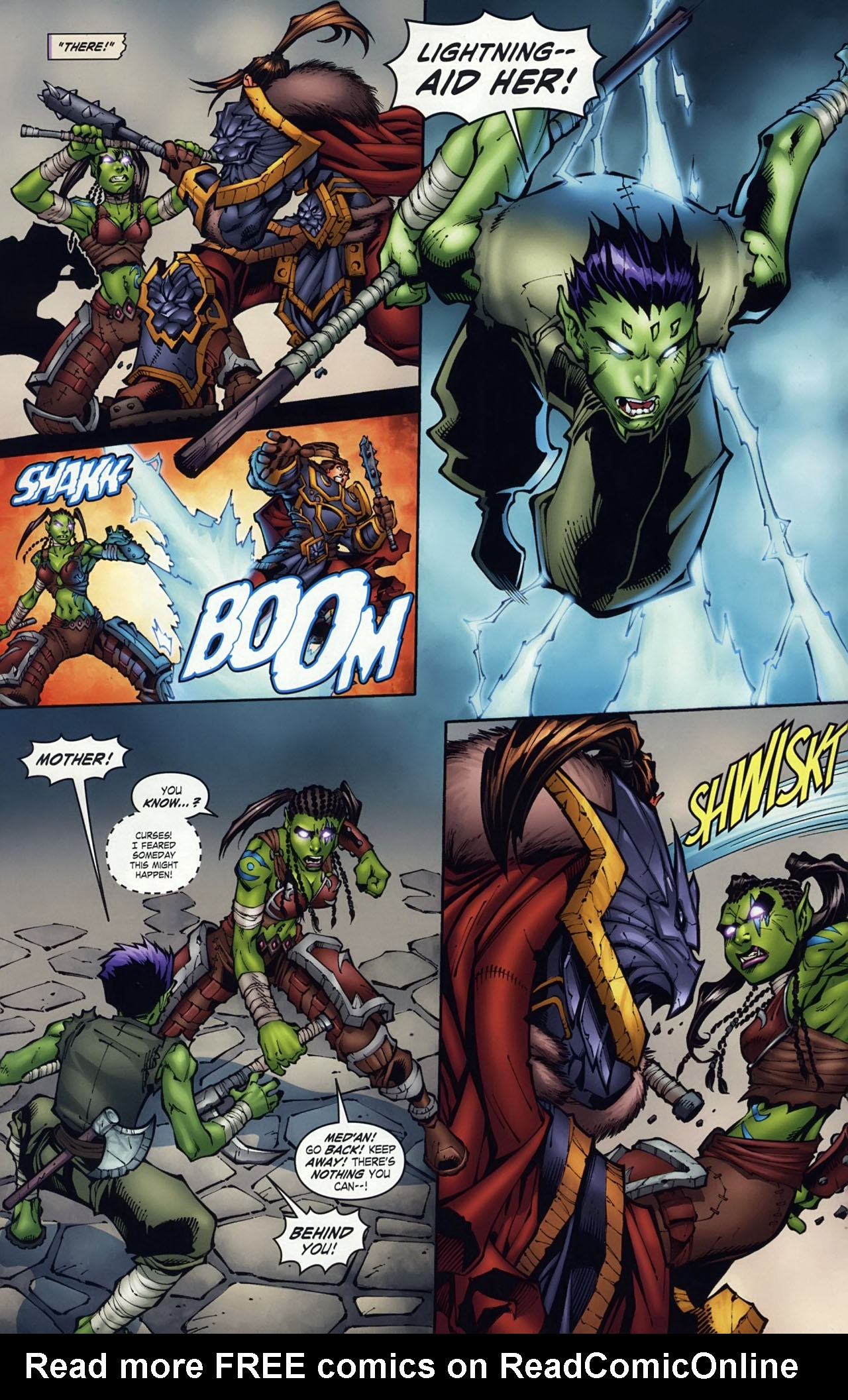 Read online World of Warcraft comic -  Issue #18 - 7