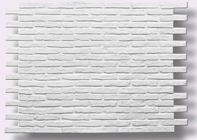 Panneaux Brique XL Blanc