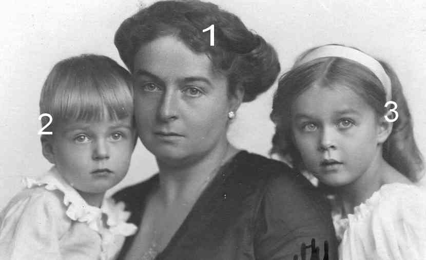 Victoria Margarete, Heinrich II et Marie Luise Reuss