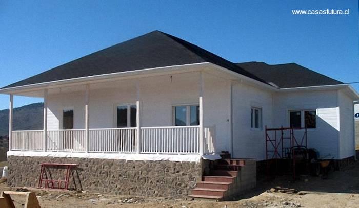 casa residencial de madera