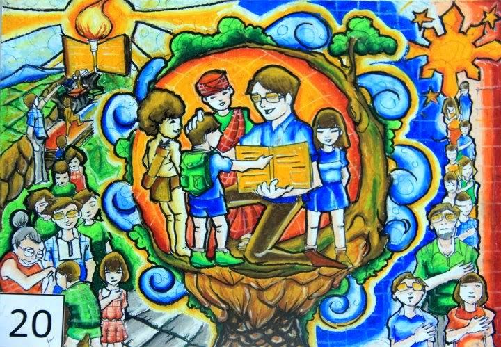 My Teacher My Hero Poster Making About My Teacher My Hero