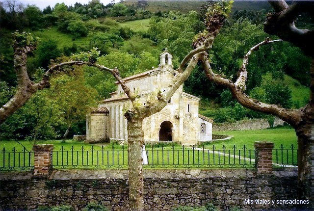 Iglesia de San Salvador de Valdediós, Ruta del románico, Asturias