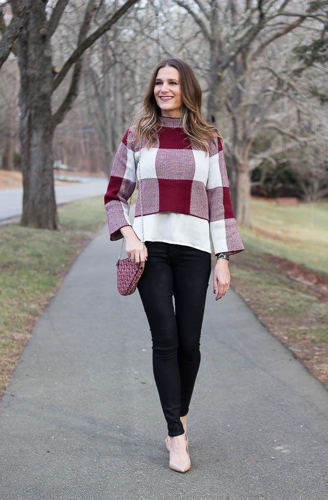 How To Wear A Cropped Sweater