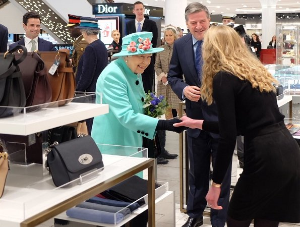 The Lexicon represents one of the biggest town centre regenerations in the UK. Queen Elizabeth visited Fenwick department store