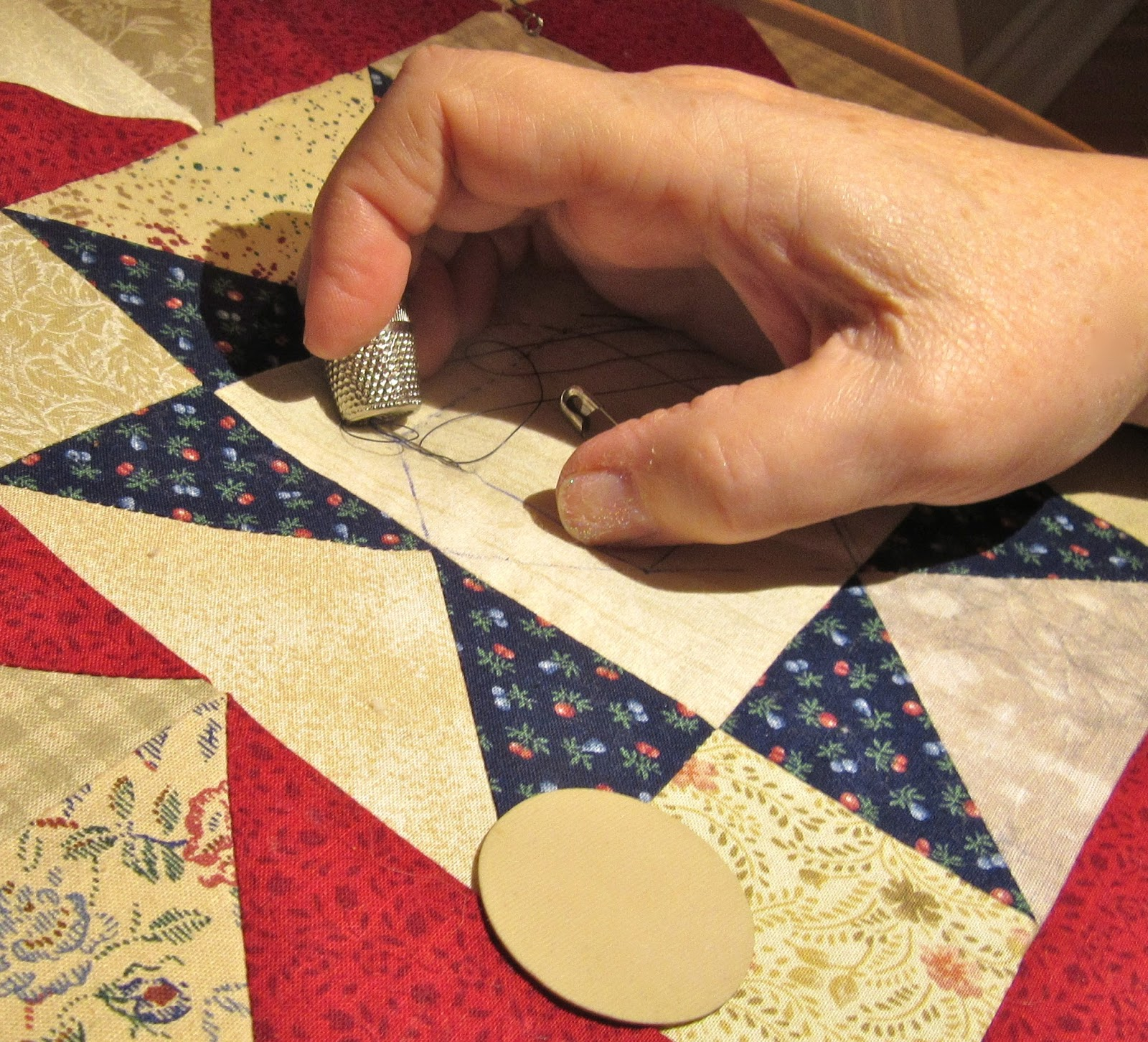 Kathy's Quilts: Slow Sunday Stitching - In the Ditch? : quilt in the ditch - Adamdwight.com