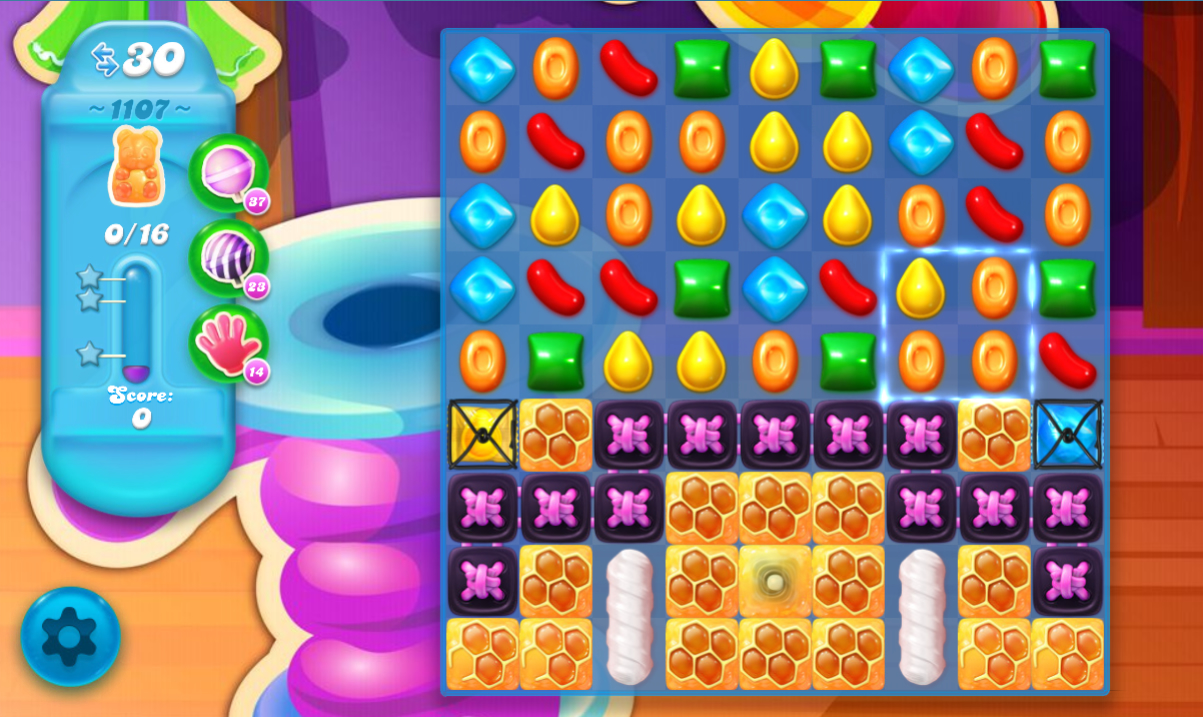 Candy Crush Soda Saga 1107