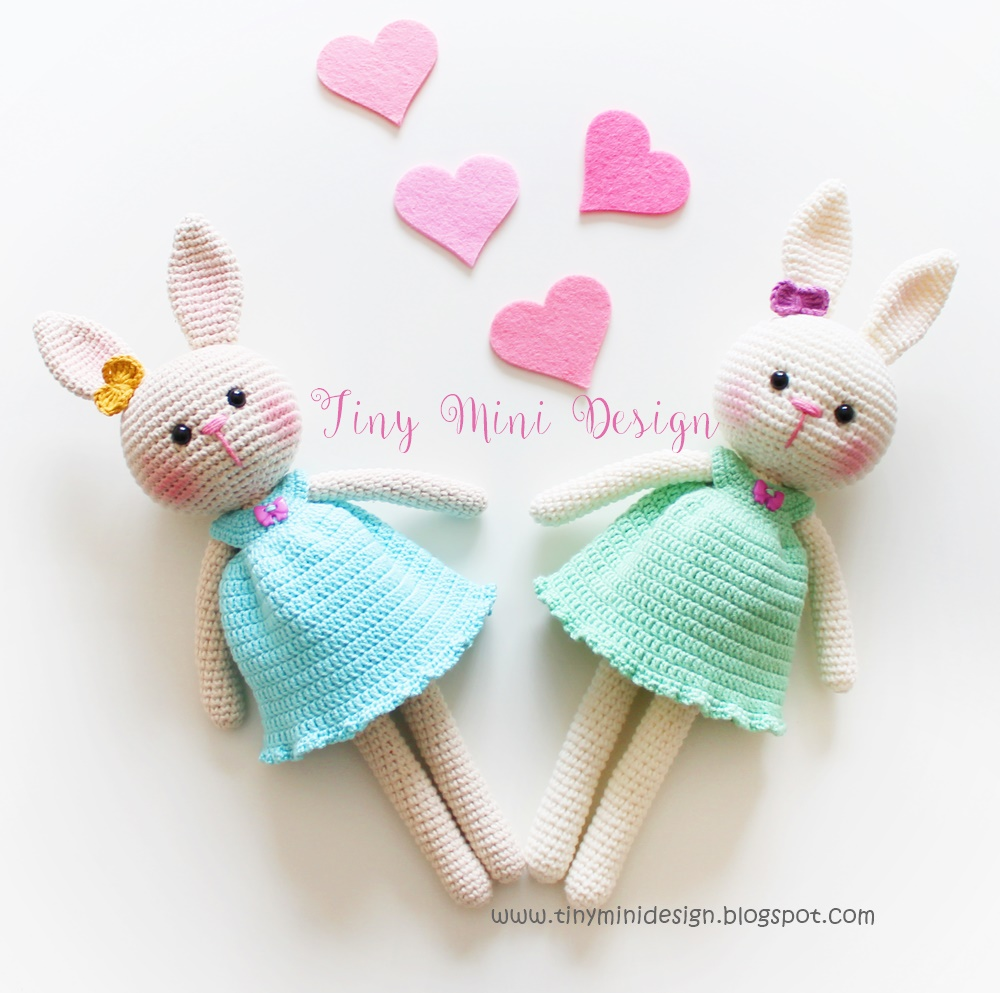 Velvet Bunny Amigurumi Free Crochet Pattern - Crochet For You   993x1000