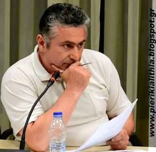 Γιώργος Κυριακίδης, ερωτήσεις στο Δ.Σ. Κατερίνης για καταγγελία φιλόζωων και για τον Πέλεκα. (ΒΙΝΤΕΟ)