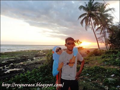 sunset di perkutatan Bali