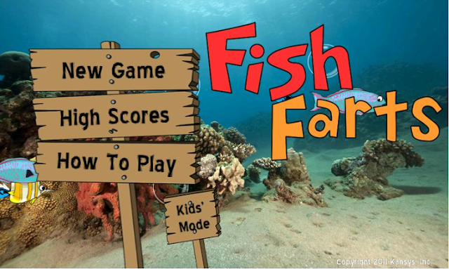 The playful otter fish farts android app for Farting fish game