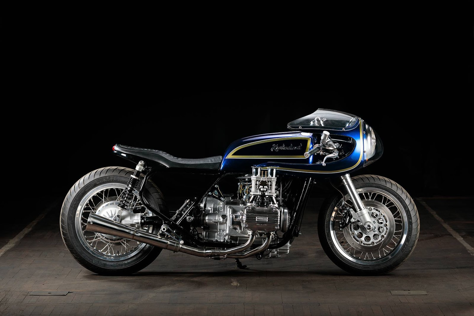 Honda Gl 1000 Blueberry Bomber Rocketgarage Cafe Racer Magazine