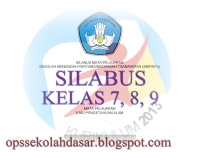 Unduh Silabus Kurikulum 2013 Revisi Tahun 2016 SMP/MTs 2017/2018