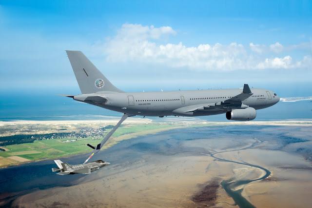 Holanda y Luxemburgo compartirán la flota de reabastecimiento en vuelo, 2 A330 MRTT