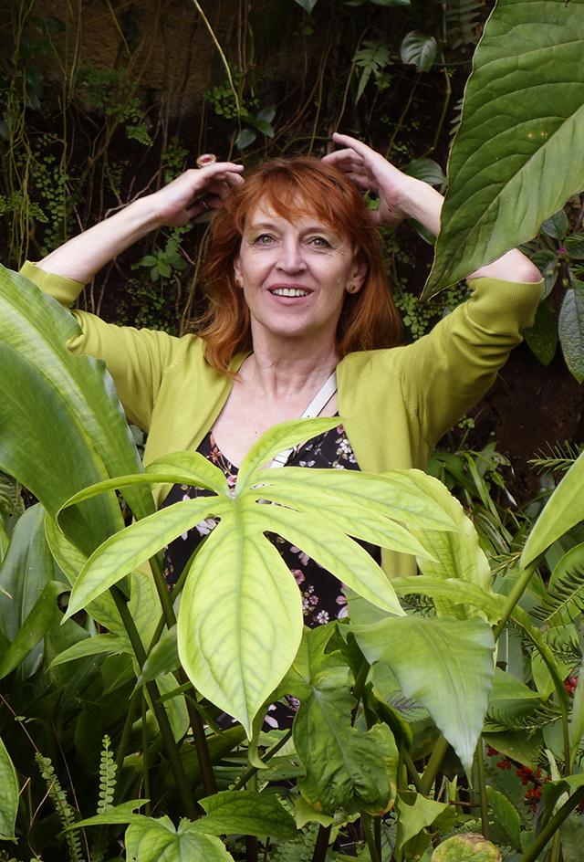 Greenery kamufláž v botanickej záhrade