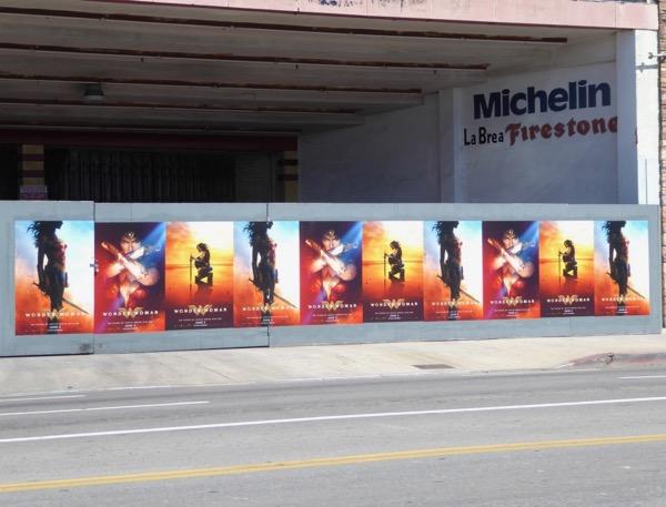 Wonder Woman street posters