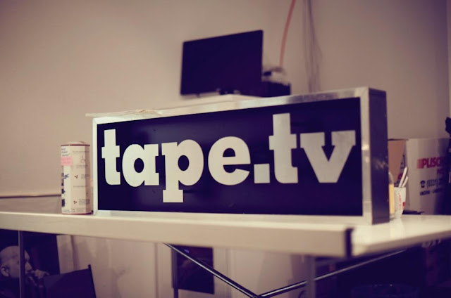 Tape TV Sign