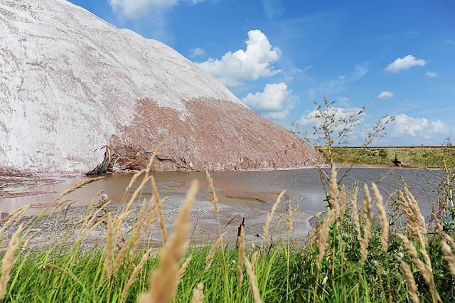 Salihorsk slani hribi