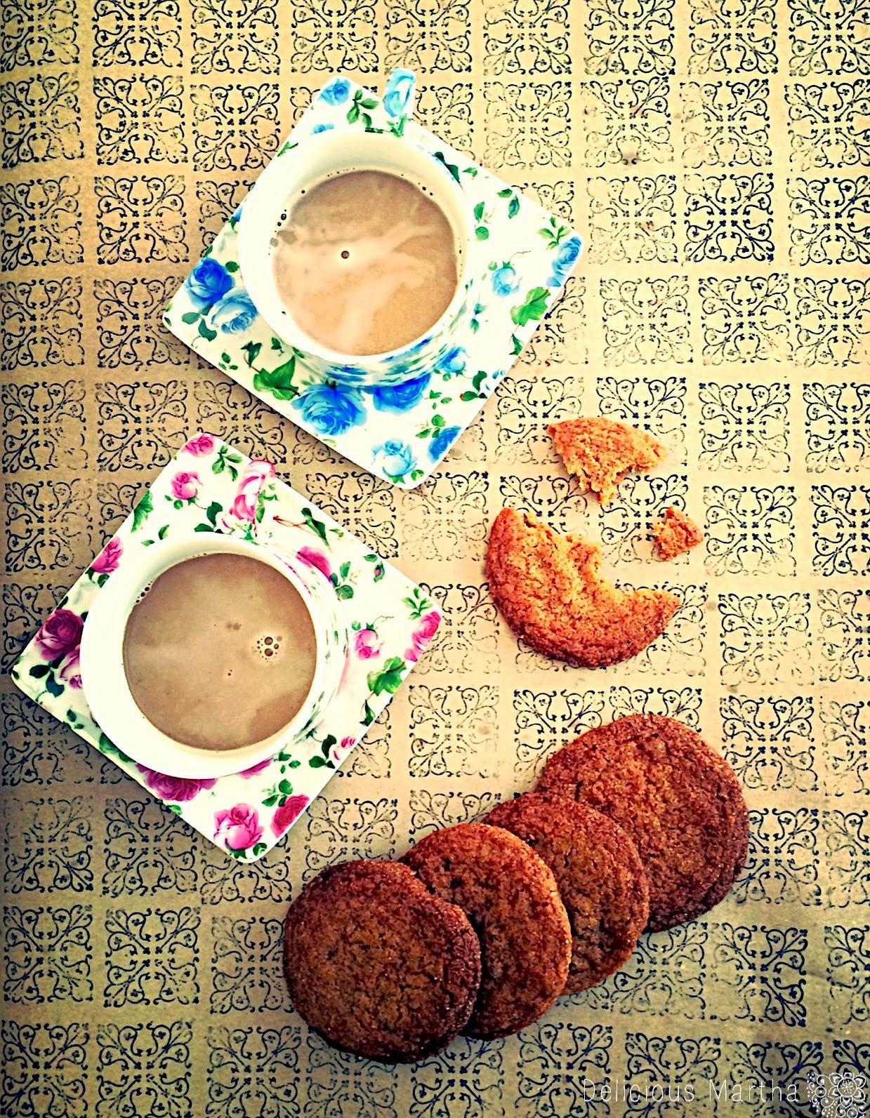 Galletas Chai [Grandma Pam's Chai Cookies de David Rio]