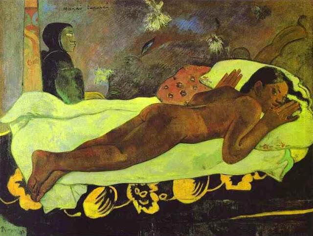 Resultado de imagem para obras de paul gauguin manao