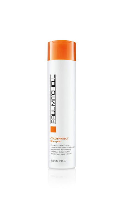 Protect and Condition color treated hair with Paul Mitchell
