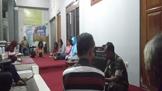 Babinsa Selalu Aktif hadir Ikuti Rapat di Wilayah Binaannya