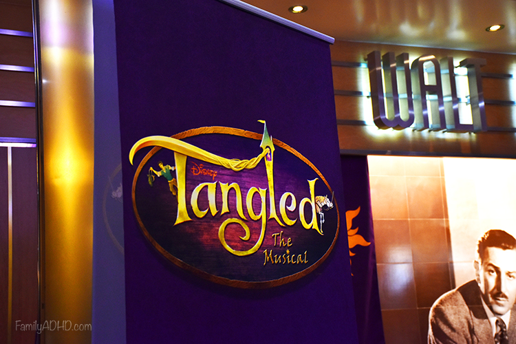 Disney Cruise Tangled the Musical