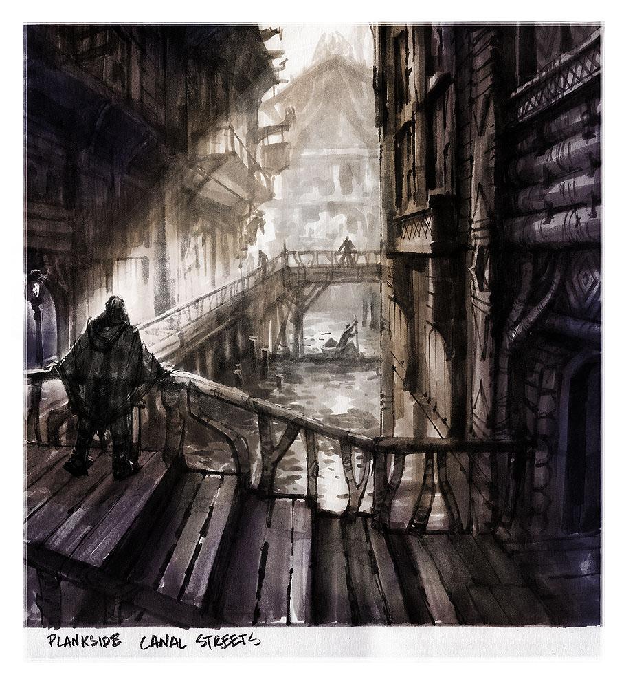 Art of Ray Lederer: TESV:Skyrim - Riften
