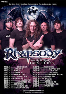 Rhapsody, XX, Farewell Tour, Rhapsody Of Fire, Madrid, Riviera,