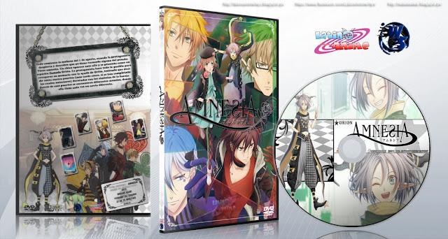 Amnesia | Cover DVD |