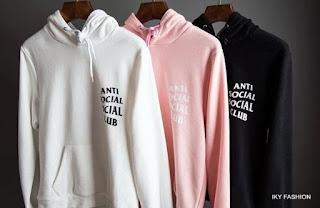Model jaket anti sosial club yang kece