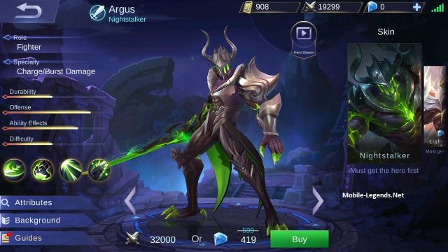 Argus Features