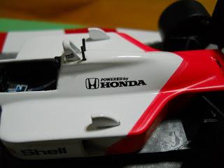 motor f-1 honda