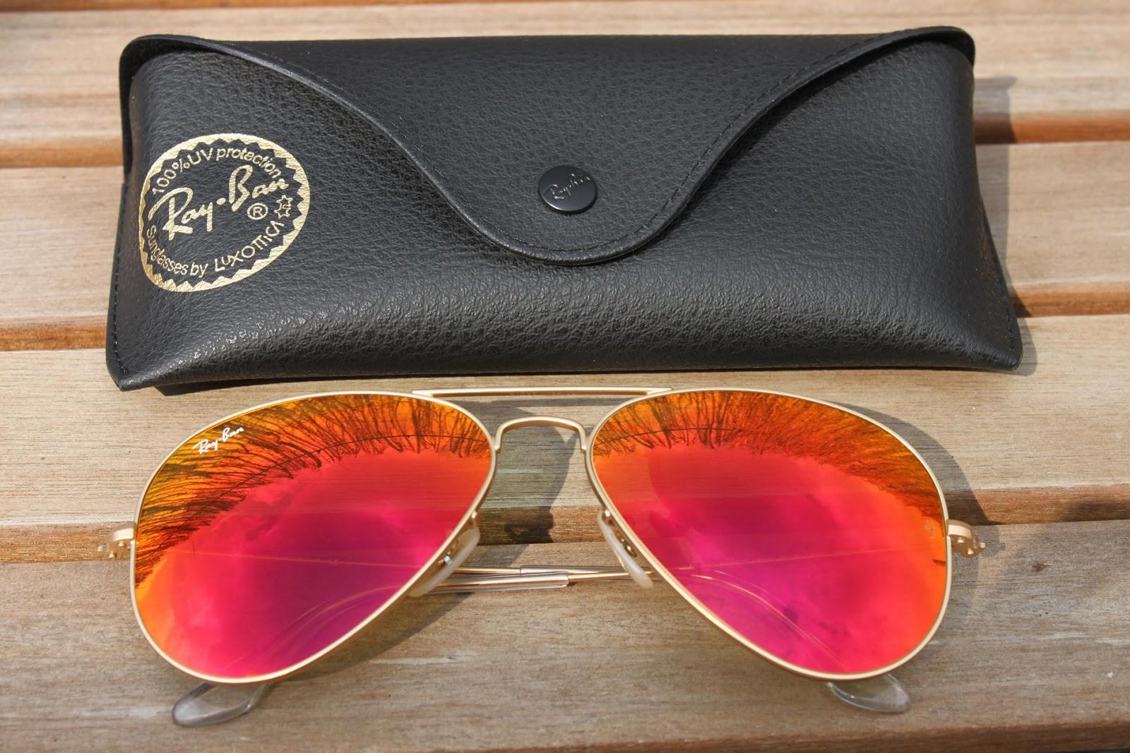 lunette ray ban aviator femme miroir 945a06d5321b